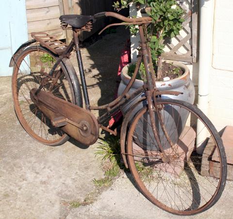 1926 Bsa Lady S Standard Roadster Bicycle Www Oldbike Eu