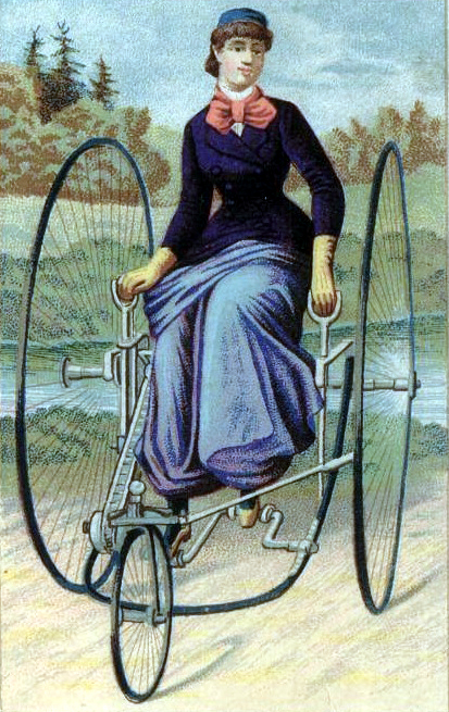 lever_drive_tricycle