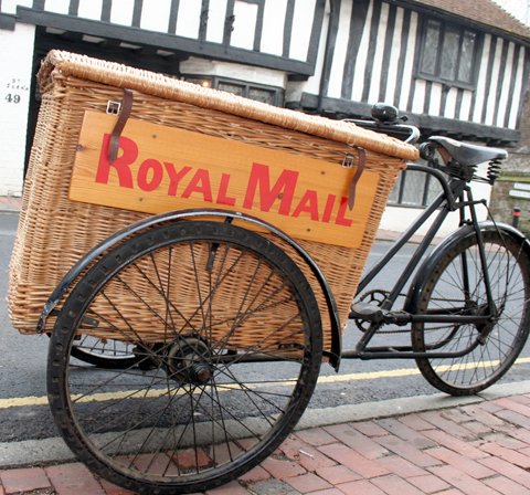 Vintage Postman/'s Royal Mail Bike Bicycle Lights