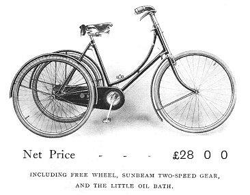 1912SunbeamGoldenTricycle