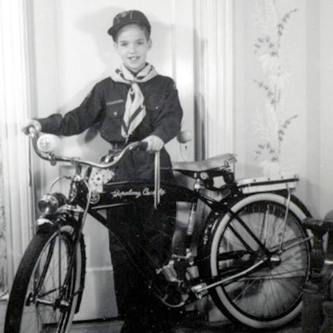 Hop a Long Cassidy bicycle decals Sammeln & Seltenes scribeemr Transport