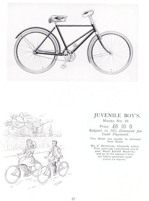 1907 Royal Enfield Catalogue