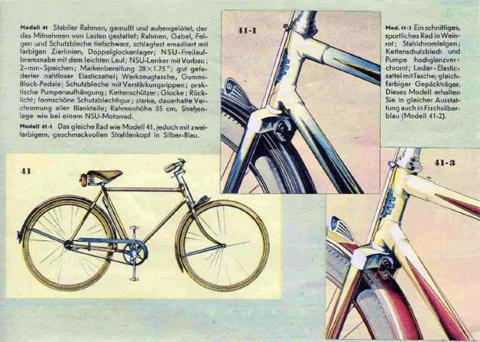1949 Nsu Gents Bicycle Model 41 Wwwoldbikeeu