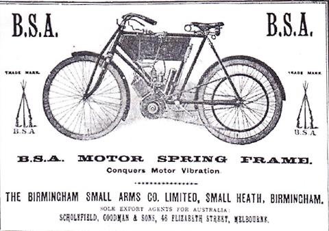 Bsa bicycles old Used Vintage