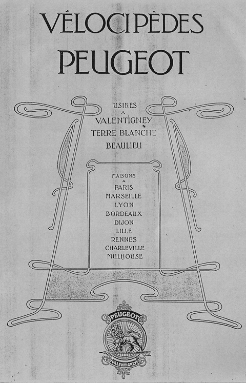 1901 peugeot valentigney bicyclette sans chaine acatene peugeot cycle museum. Black Bedroom Furniture Sets. Home Design Ideas